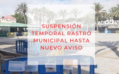 Suspendida la celebración del Rastro dominical de Puerto del Rosario como medida preventiva