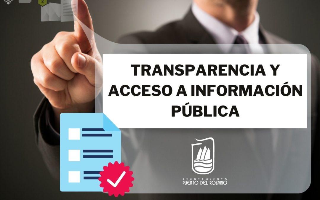 El Ayuntamiento recuerda que hasta el 1 de junio se encuentra en periodo de consulta pública la Ordenanza municipal Reguladora sobre Transparencia y Acceso a la Información