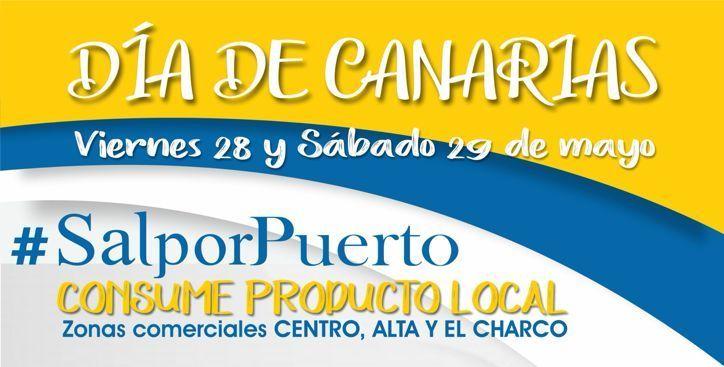 La capital celebra el Día de Canarias en las zonas comerciales abiertas con degustación de comida típica canaria y ambientación musical en vivo