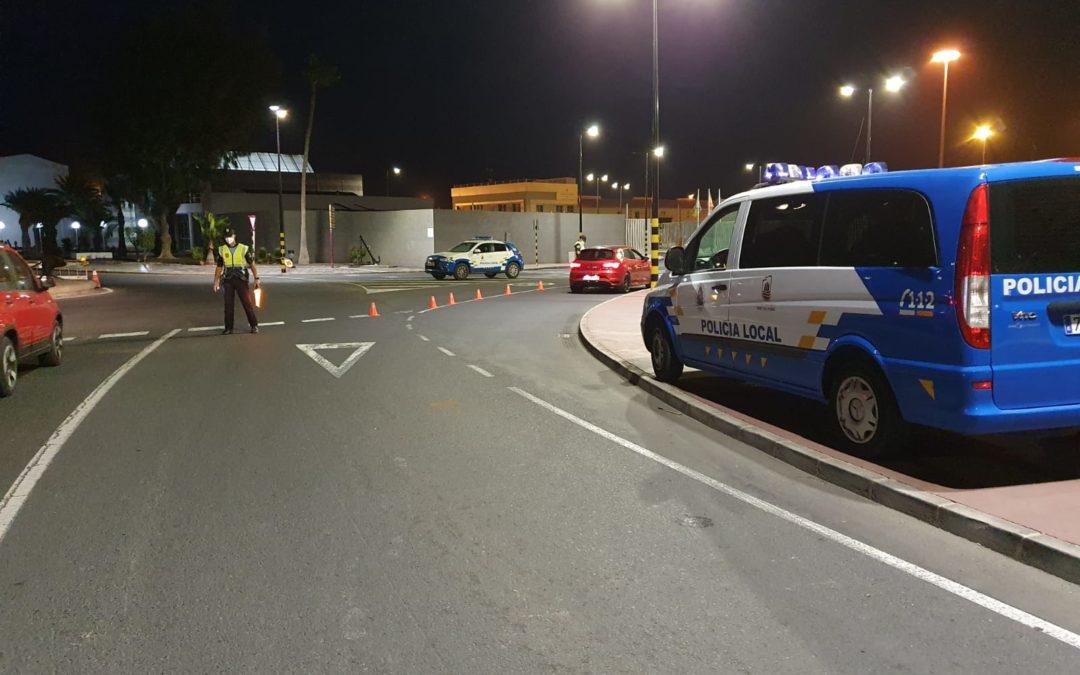 La Policía Local reforzó durante el fin de semana un dispositivo especial con motivo del fin del estado de alarma
