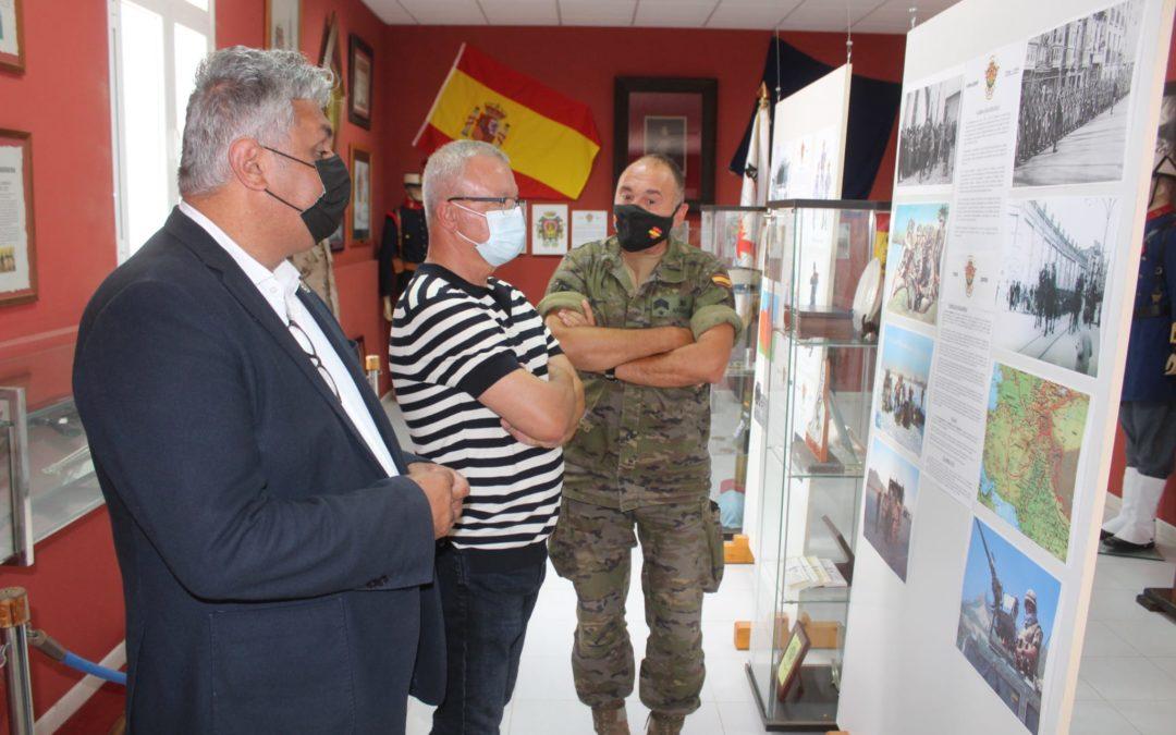 El Ayuntamiento capitalino invita a visitar el Museo de la Historia Militar del Regimiento Soria 9