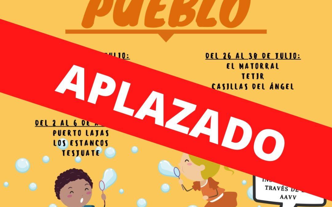 Puerto del Rosario aplaza el proyecto 'Dinamiza tu pueblo' tras el cambio a nivel 3 de la alerta sanitaria