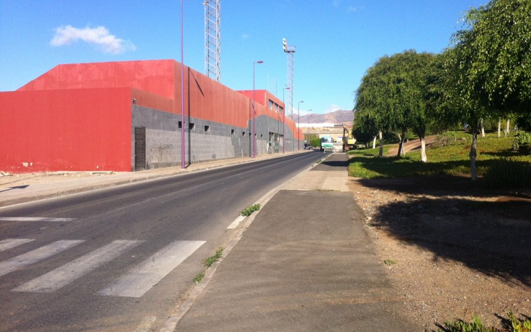 Cierre al tráfico de la Calle Puerto Cabras por obras de saneamiento