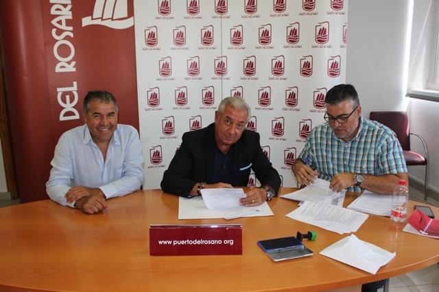 Firma del contrato de limpieza, mantenimiento y portería de las instalaciones municipales de Puerto del Rosario