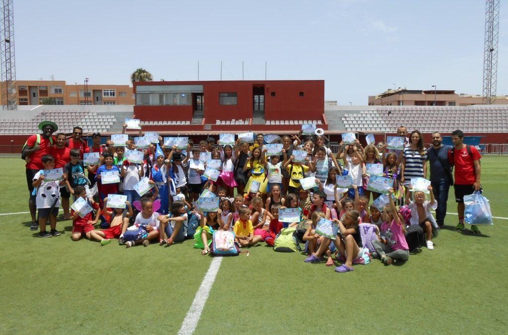 Clausura del segundo turno de las Escuelas Deportivas de Verano