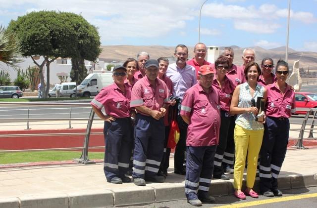 Puerto recibe la Escoba de Oro, distintivo al trabajo de limpieza de la capital