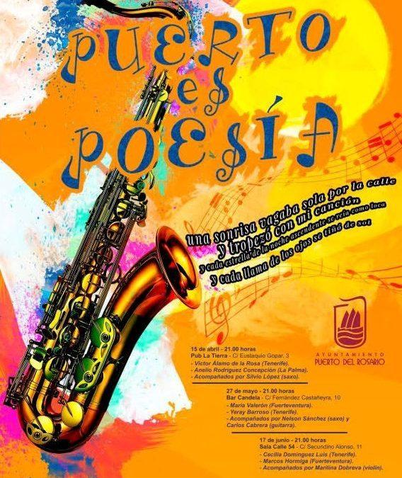 Nueva y última cita de «Puerto es Poesía» en la Sala Calle 54.