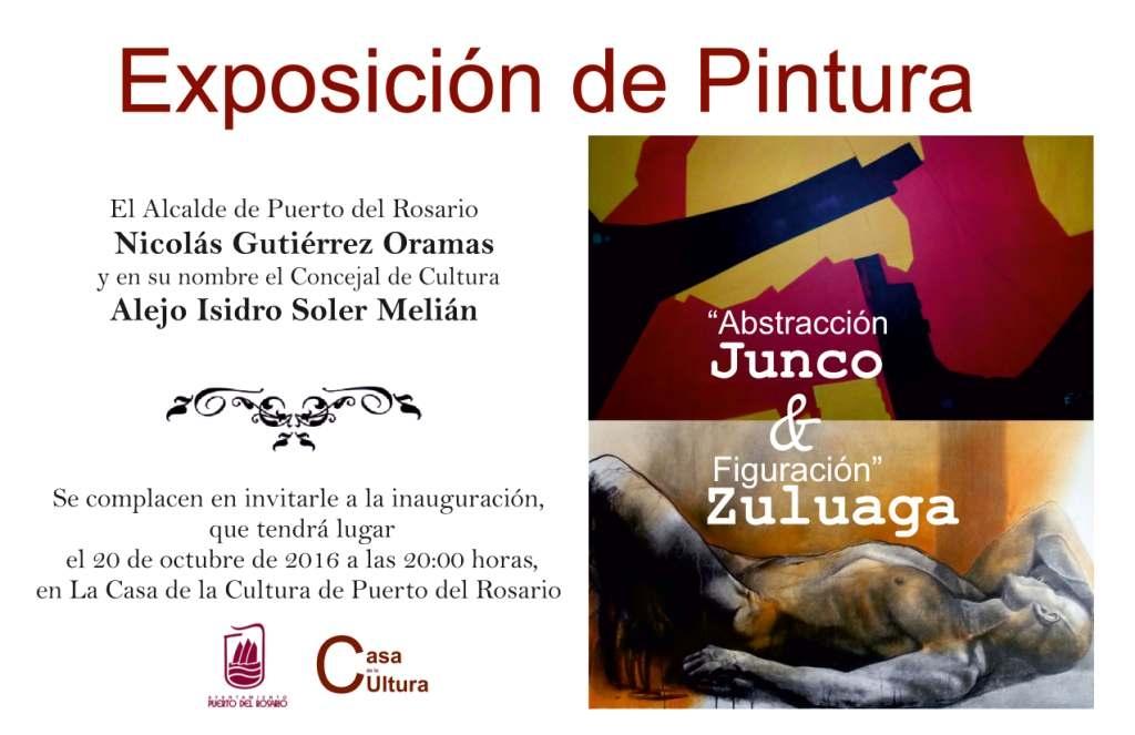 Exposición conjunta en la Casa de la Cultura de Junco & Zuluaga