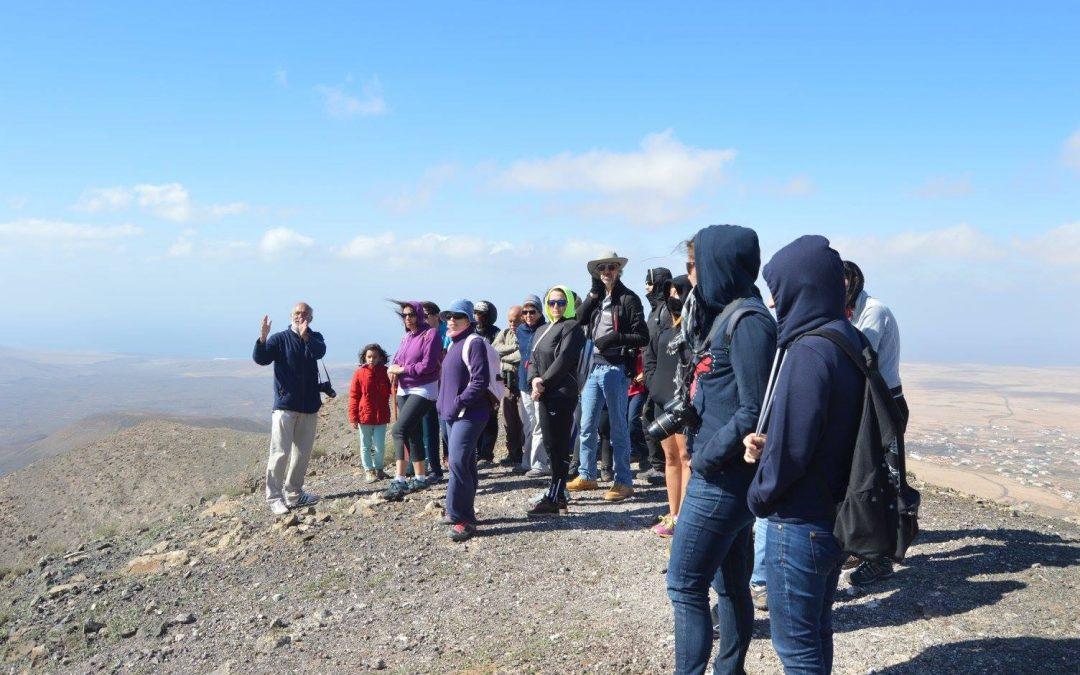 Éxito de convocatoria en la visita guiada a las Fuentes del Chupadero