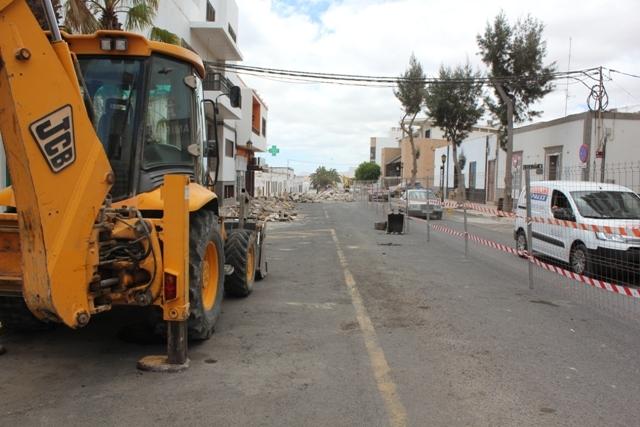 El ayuntamiento de Puerto del Rosario pide precaución en la circulación por la zona centro