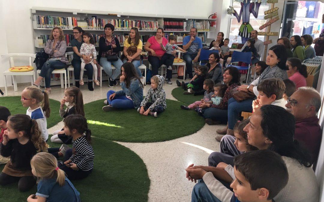 Nueva cita con los cuentacuentos infantiles en la Biblioteca municipal