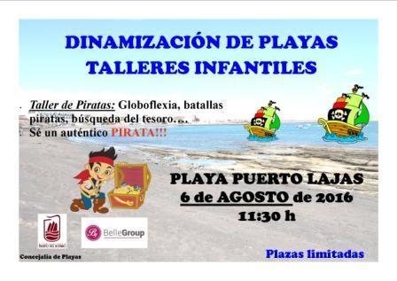 Talleres infantiles para el verano en Puerto del Rosario