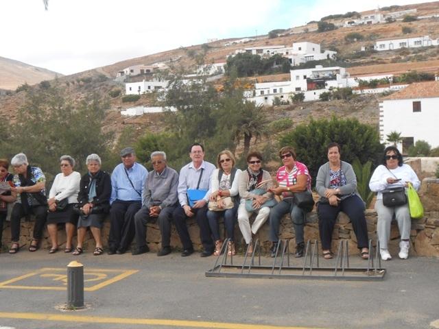 Los mayores, de visita cultural por Betancuria
