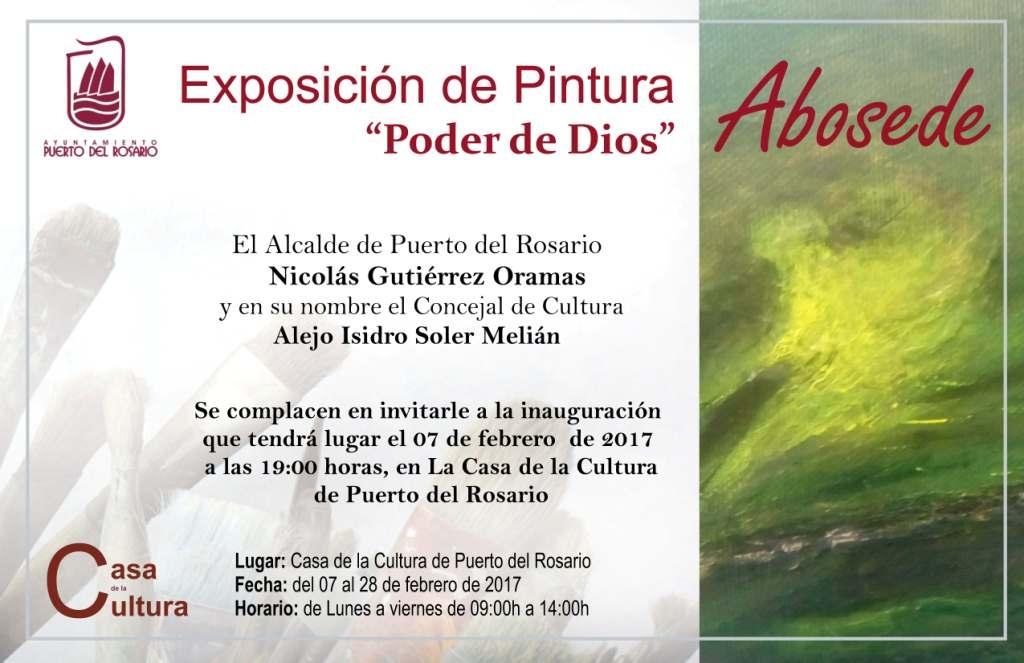 Exposición de la pintora autodidacta «Abosede»
