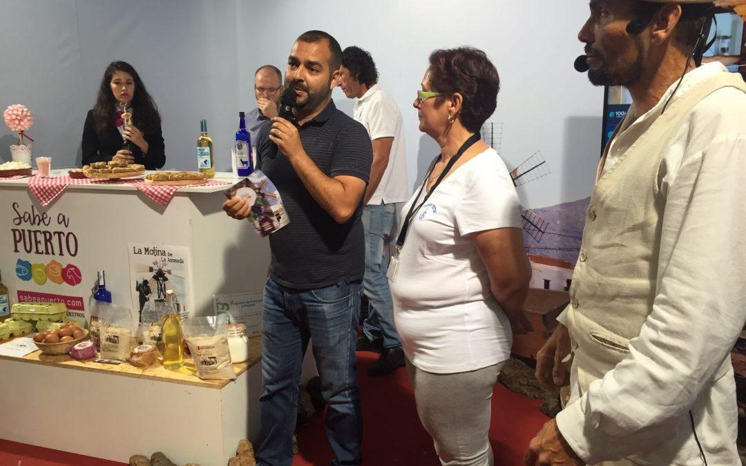 El stand de Puerto en Feaga 2016, uno de los más visitados de la Feria
