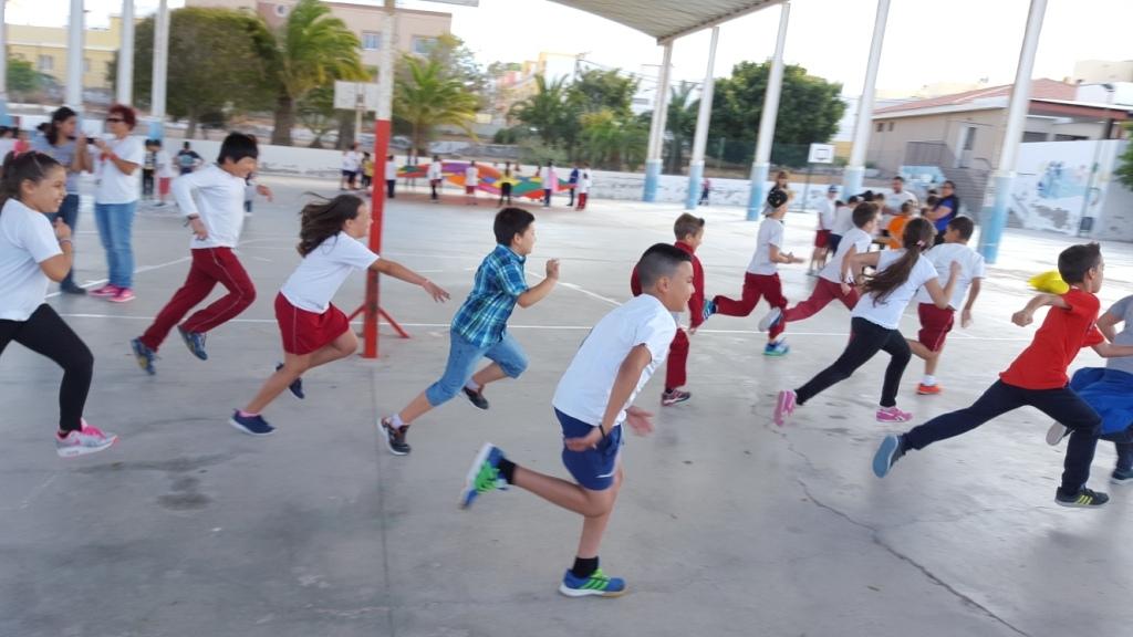 Los escolares de 4º de Primaria celebraron la Gymkana por la Salud