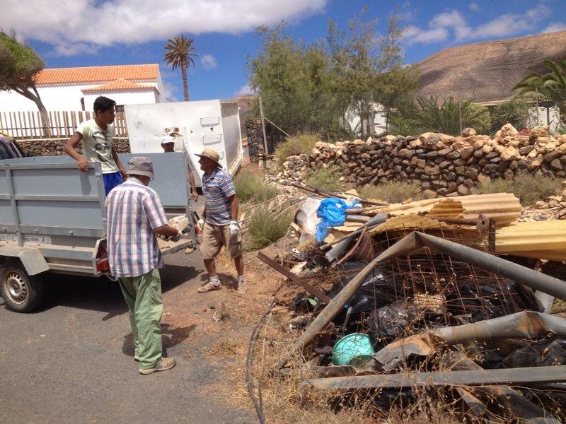 Los vecinos de Guisguey, un ejemplo de iniciativa comunitaria