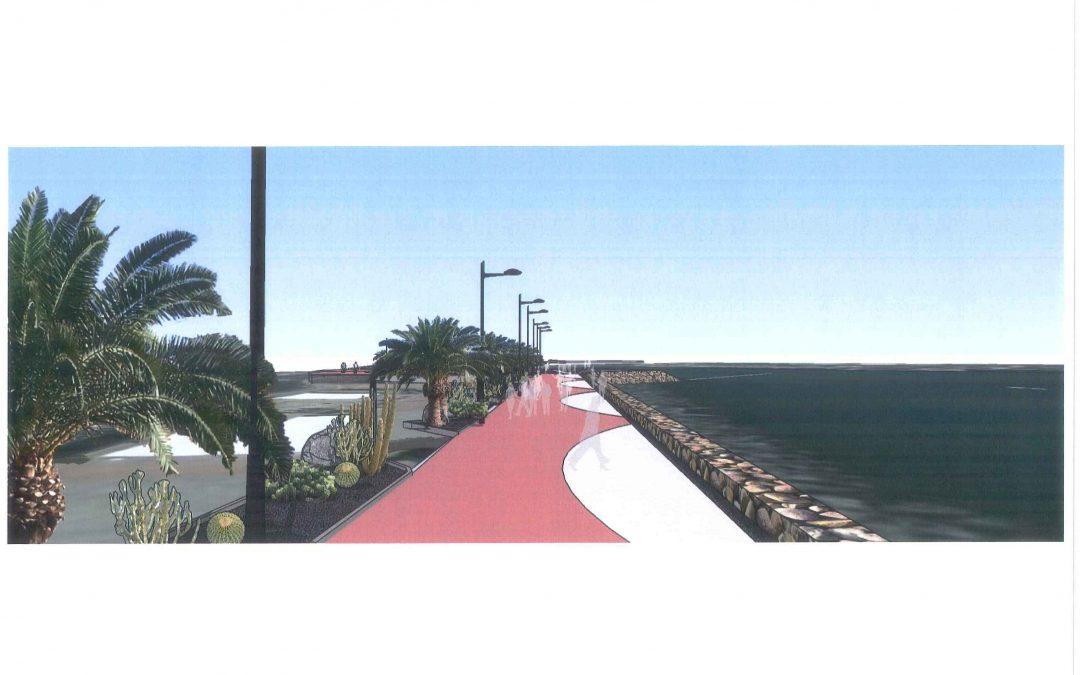 El Paseo Marítimo de la Avenida Marítima entra en su segunda fase