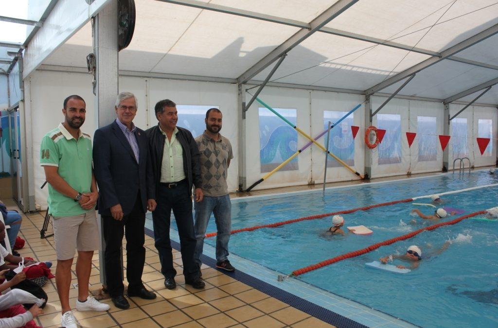 15 Años de Aquapuerto enseñando a nadar a todos los niños y niñas