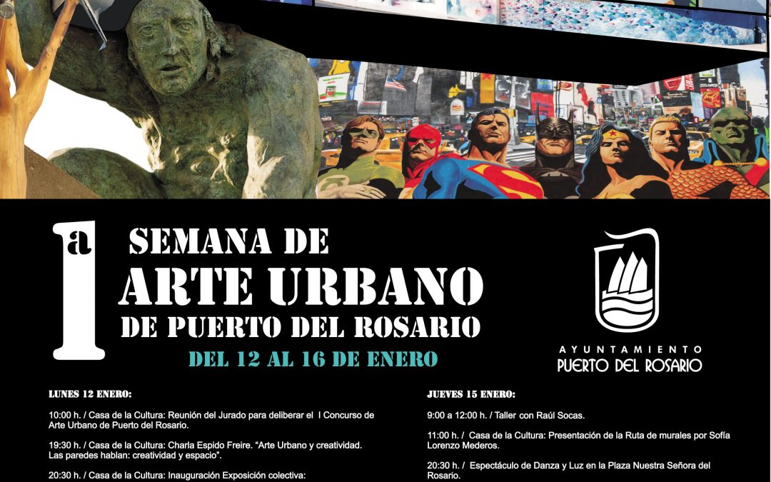 Puerto presenta su 1ª Semana de Arte Urbano