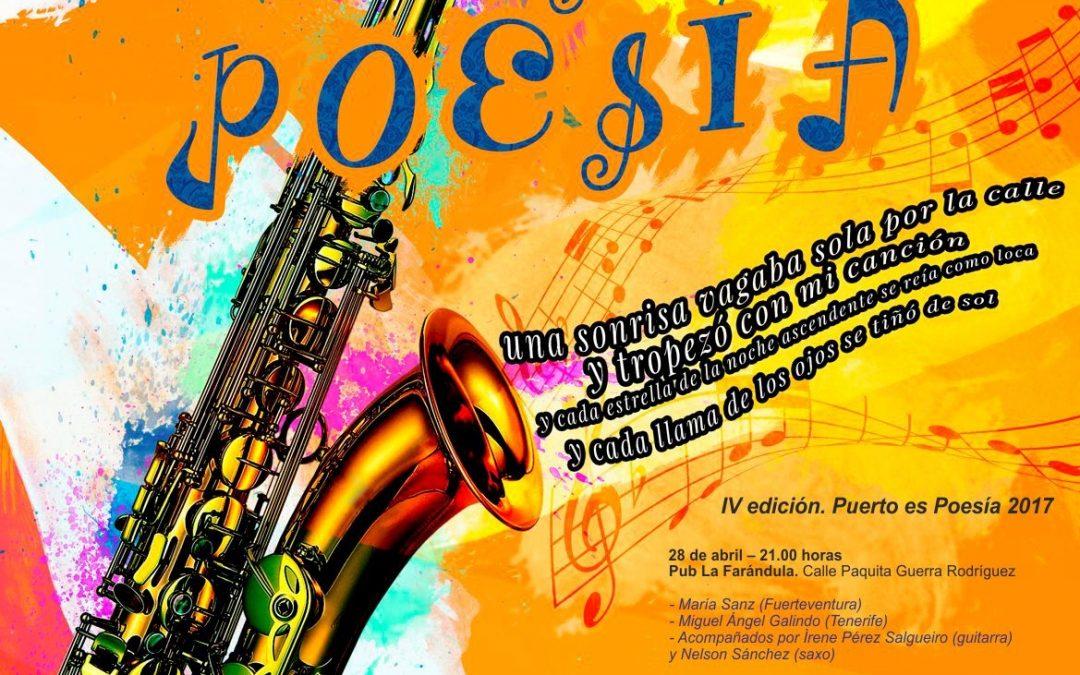«Puerto es Poesía» vuelve este viernes, 19 de mayo en el Pub «La Tierra»