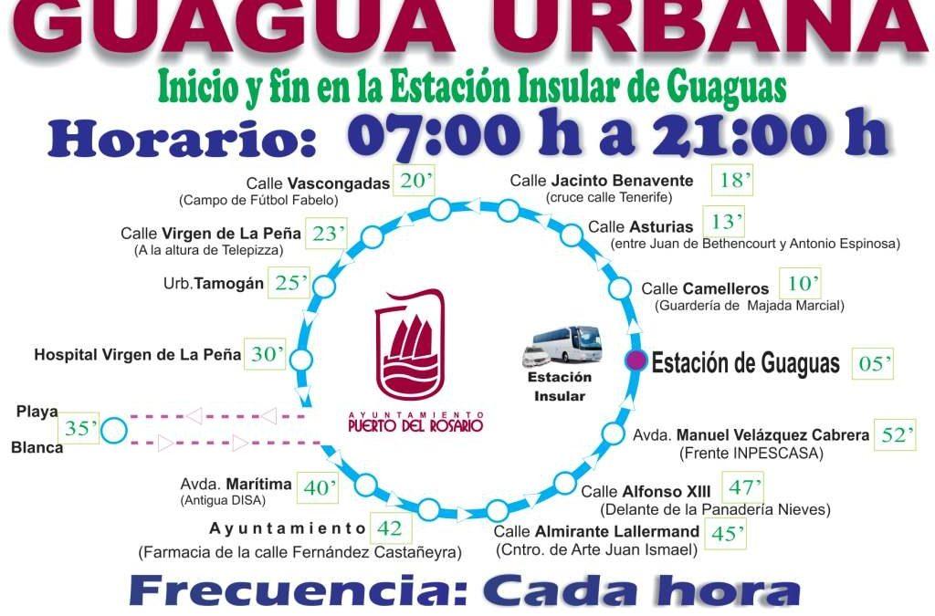 El Servicio de Guagua Urbana, ahora con más información al usuario