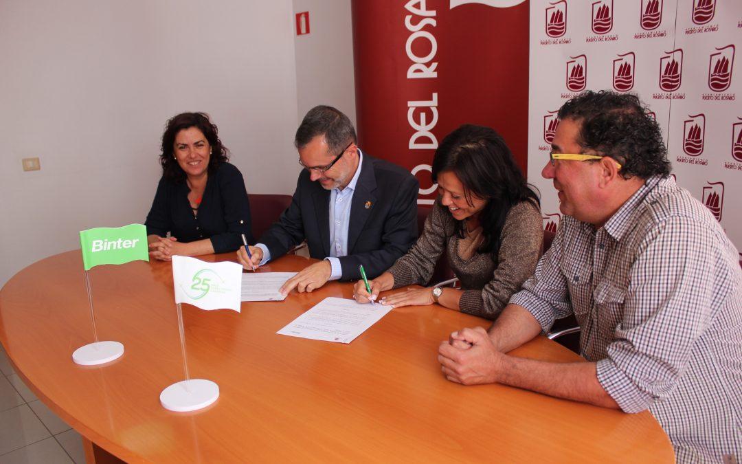 El Ayuntamiento y Binter firman un nuevo convenio de colaboración