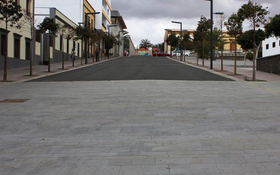 Nuevas calles Virgen del Rosario, Fernández Castañeyra, García Escámez…