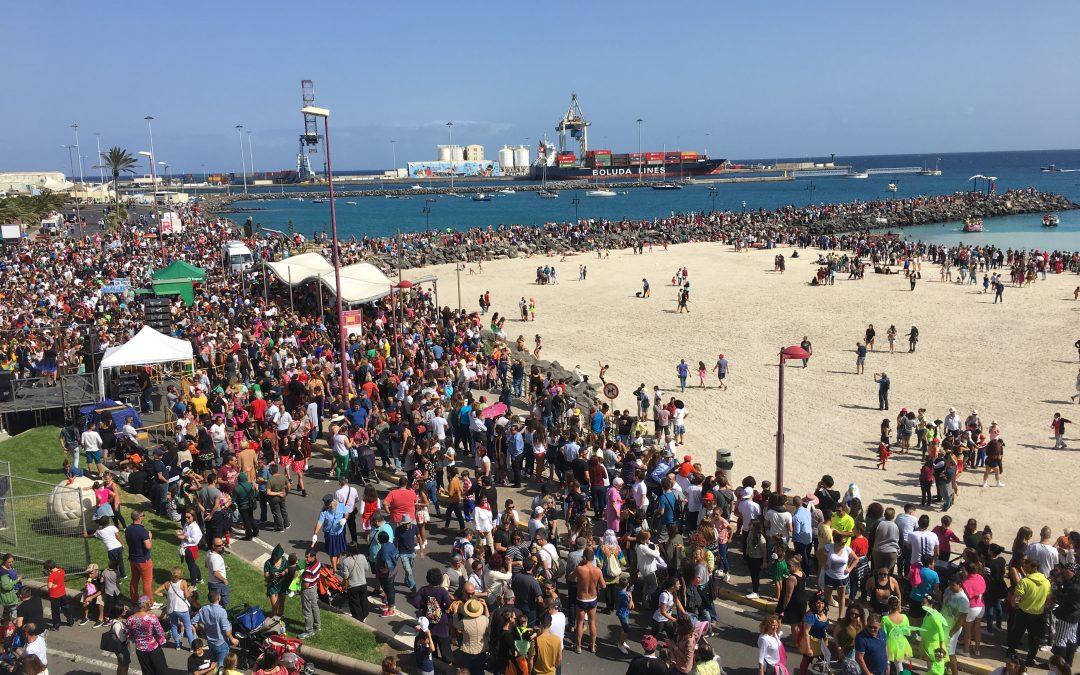 «Los Achipencos» y el «Carnaval de Día» siguen batiendo records de participación