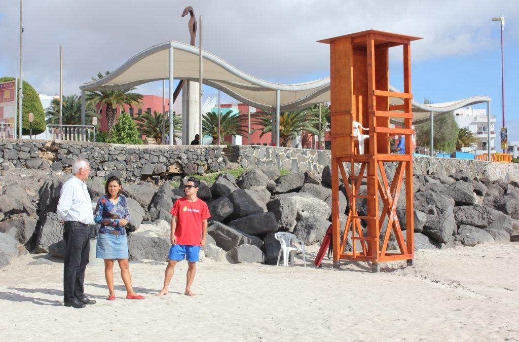 Socorrismo en la Playa de Los Pozos, también en Noviembre y Diciembre