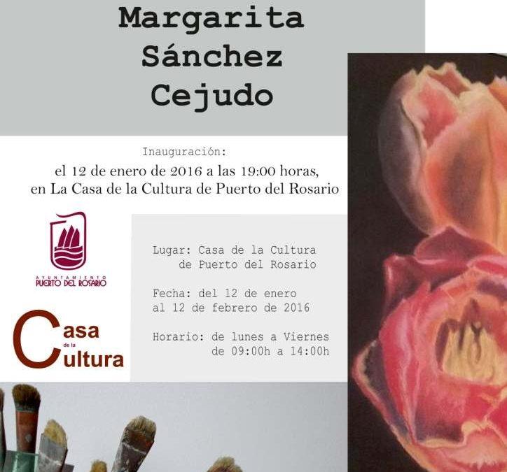 Exposición de Pintura de Margarita Sánchez Cejudo