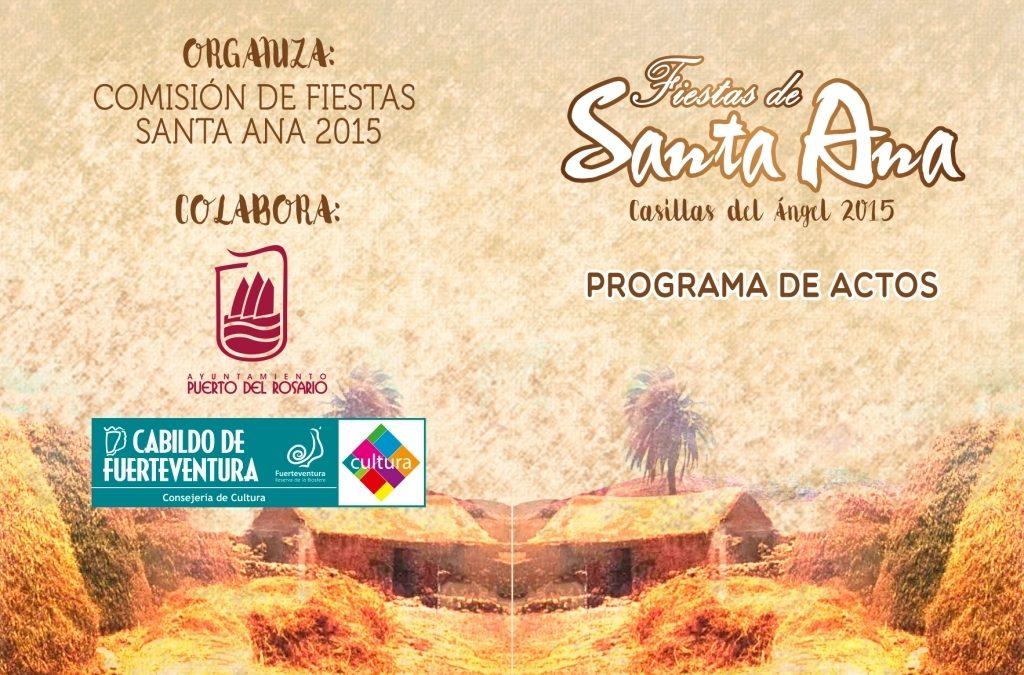 Fiestas de Casillas del Angel en Honor a Sta. Ana 2015
