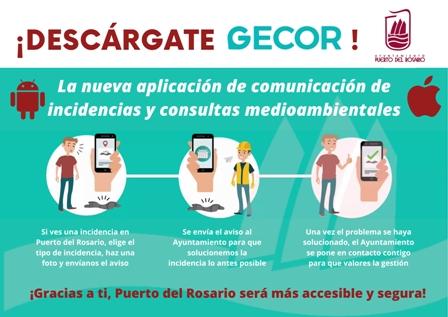 Puerto del Rosario estrena un nuevo servicio de comunicación de incidencias desde App y Web