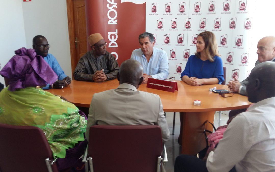 Visita del Cónsul  de Senegal al Ayuntamiento de Puerto del Rosario
