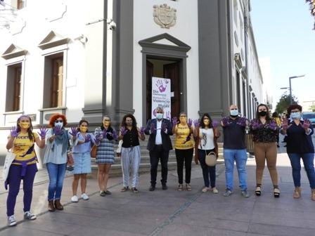 Puerto del Rosario se suma al Día Internacional contra la Violencia hacia las mujeres