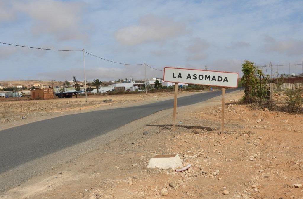 Proceso de licitación para asfaltado en calles de Fabelo, Buenavista y Los Pozos