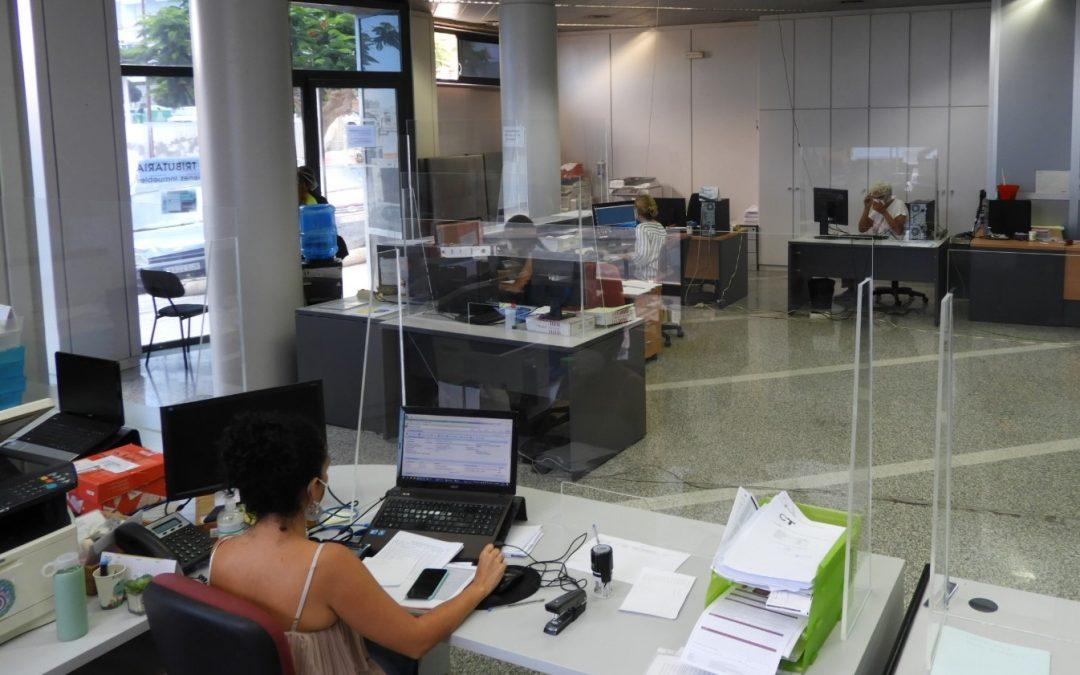 La capital anuncia la contratación de varios suministros de material de oficina