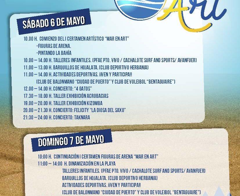Arte, música, deportes y ocio en la Playa de Los Pozos con «Marenart»