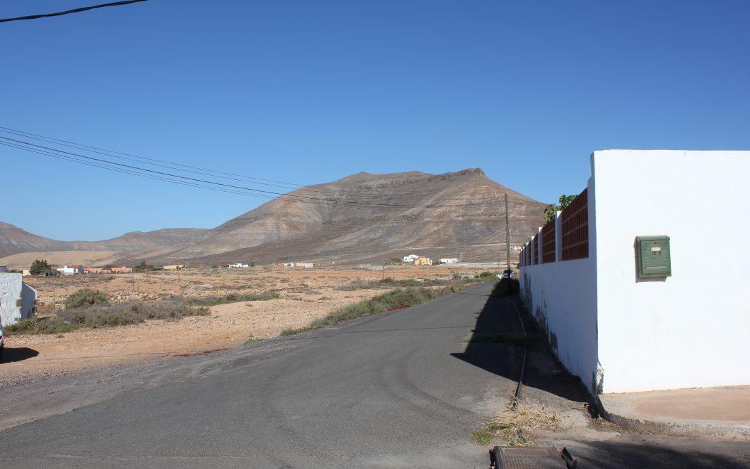 Nueva calle para La Asomada con el nombre de Juan Francisco Barrera Curbelo