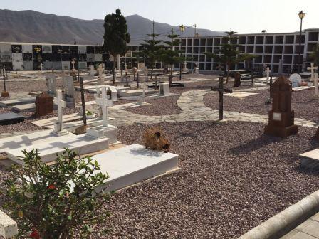Acondicionamiento del cementerio de Casillas del Angel