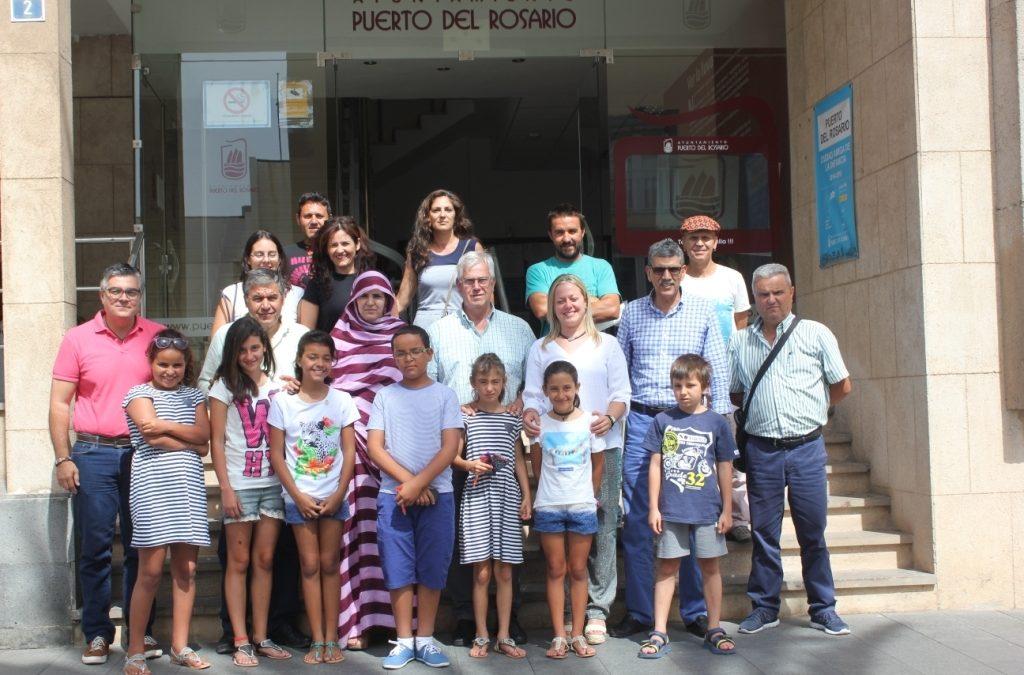 El Ayuntamiento colaborará en traer más niños saharauis en vacaciones