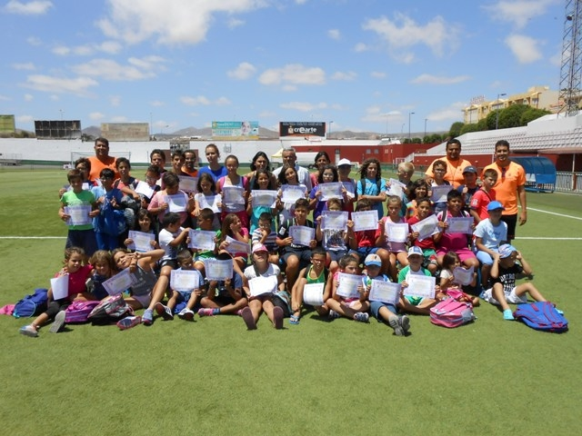 El Ayuntamiento de Puerto del Rosario clausura las escuelas deportivas