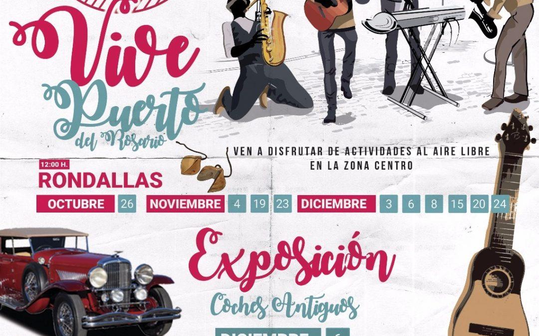 Programación de «Living Puerto del Rosario» para los cruceros de noviembre