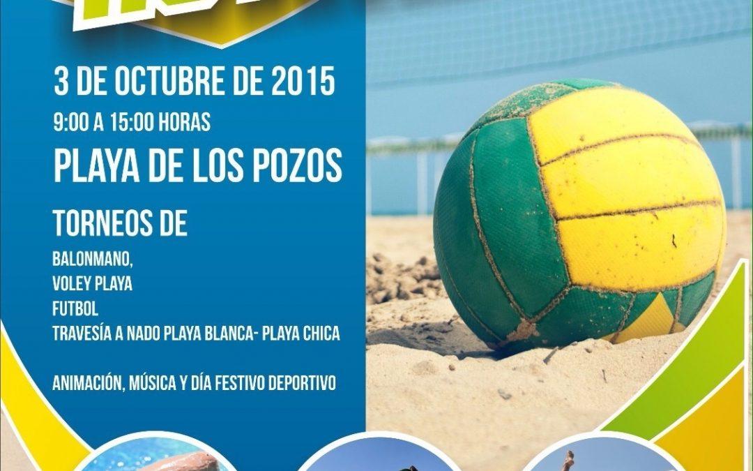 «Sportactívate», propuesta deportiva en la playa de los Pozos