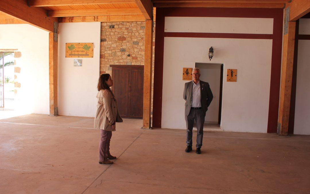 Mejoras de saneamiento en el Centro Cultural de La Matilla