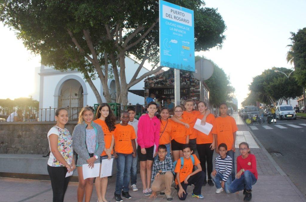 Nuevo Pleno Infantil en el Ayuntamiento de Puerto del Rosario