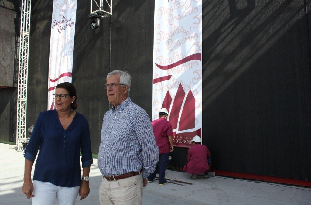 Se inaugura el escenario del recinto ferial con el festival «Amolán»