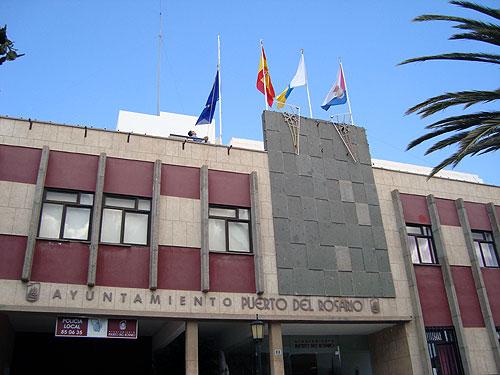 El Ayuntamiento de Puerto del Rosario conmemora el Día de Europa.