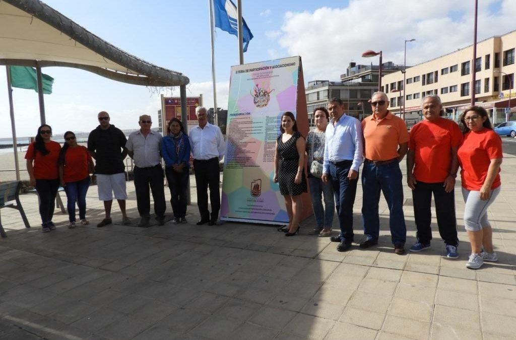 40 asociaciones en la II Feria de Participación y Asociacionismo