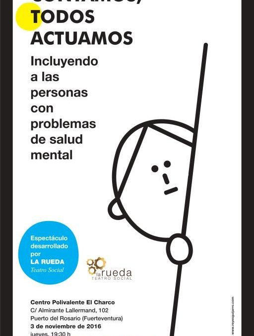 Teatro Social para sensibilizar en salud mental